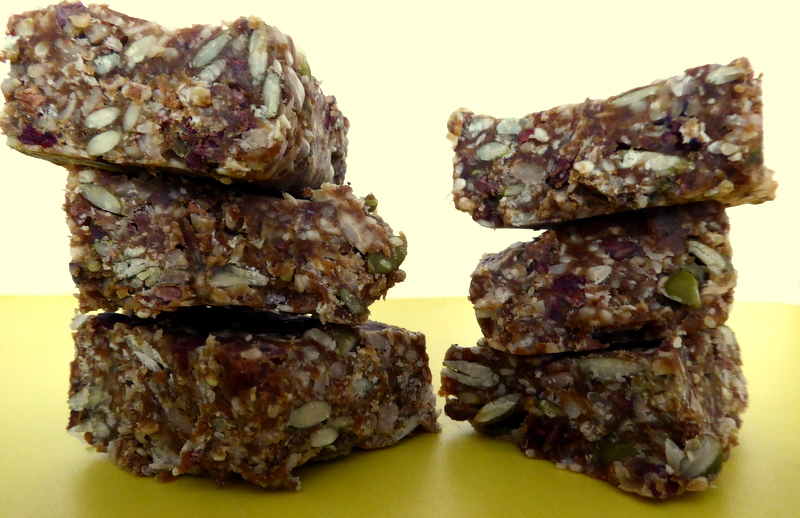 sugar-free cranberry seed bar